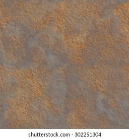 Seamless rust texture. Rusted metall rough tileable background. Industrial damaged dirty material wallpepar.