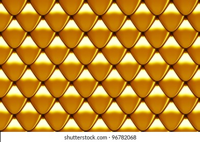 seamless scales texture 3d render