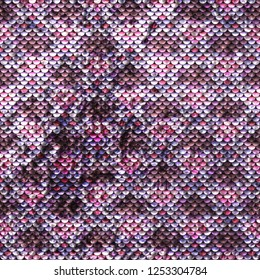 Seamless Sequins Texture Background. Colorful luxury pattern.