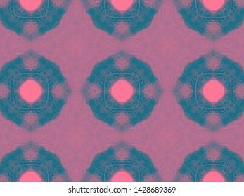 Seamless Shirt Checks Pattern. Quadrangle Fabric Design. Abstract Geometric Print. Hand Drawn Tribal Illustration. Watercolor Shirt Checks.