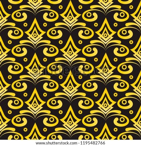 seamless simple pattern background gold geometric stock illustration rh shutterstock com
