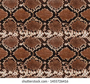 Seamless snake skin pattern design