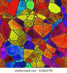 Stained glass pattern images stock photos vectors shutterstock seamless stained glass pattern maxwellsz