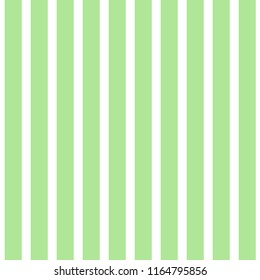 Seamless Stripe Pattern Green And White Design For Wallpaper Fabric Textile Simple