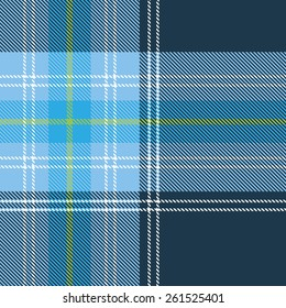Seamless tartan pattern for design. Stylish trend