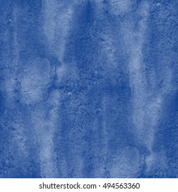 seamless texture hand painted water sea ocean waves abstract watercolor paint blue background