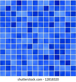 seamless tileable background of bathroom or swimming pool tiles or wall
