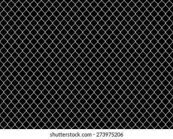 Seamless Tileable Chain Link Fence Alpha/Selection Mask