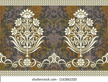 Seamless Traditional background Texture Pattern