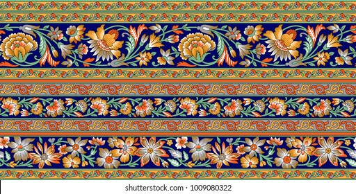 Seamless Traditional Indian motif