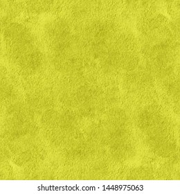 Seamless yellow paper texture. Endless pattern illustration for background, design or print.