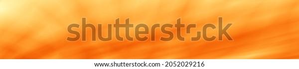 Season autumn orange color widescreen illustration background