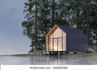 Scandinavian House High Res Stock Images Shutterstock