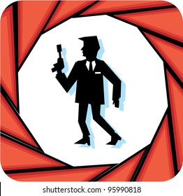 Secret Agent Banner