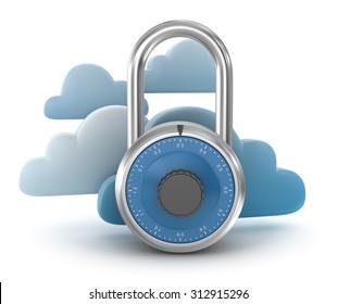 Secure Cloud Concept