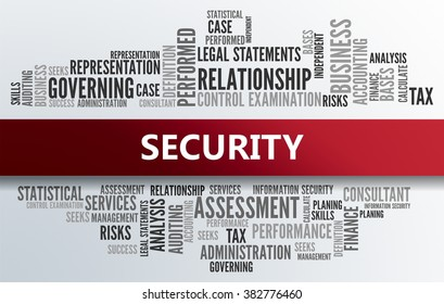 SECURITY | Business Abstract Concept