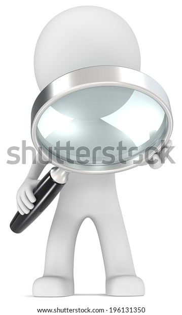Seek. Dude with magnifying glass.