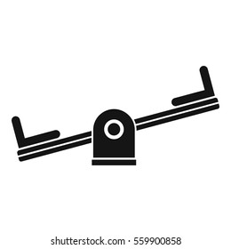 balance seesaw Stock Illustrations, Images & Vectors