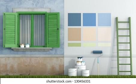 House Exterior Paint Images Stock Photos Amp Vectors