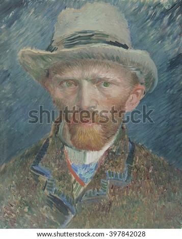 Selfportrait by Vincent van