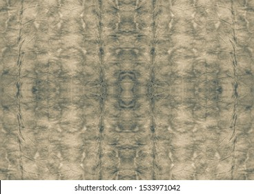 Sepia Stained Parchment. Beige Brown Watercolor Print. Old Grunge Background. Gray Dyed Grunge. Pale Black Ink Brush. Grey White Seamless Structure. Grey Pale Gray Tie Dye Texture.