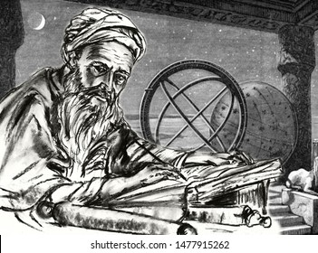From series of great scientists. Abu Abdullah Muhammad ibn Mus Al-Khwarizmi - Persian mathematician, one of the largest Central Asian scientists of the 9th century, mathematician, astronomer, geograph