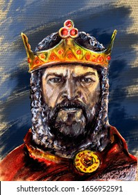 A series of kings of England. Alfred the Great - King of Wessex. The first of the Anglo-Saxon rulers of Britain began to call himself king of England.