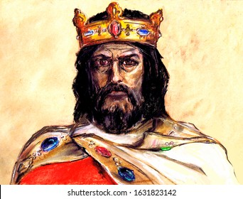 A series of kings of France. Charlemagne - King of the Franks, Duke of Bavaria, Emperor of the West. By the name of Karl, the dynasty was called the Carolingian.