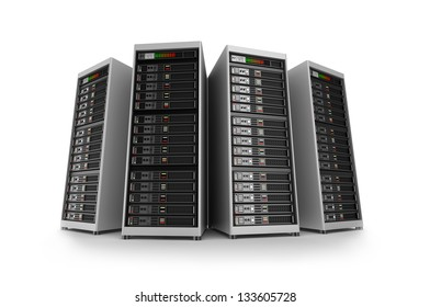 Servers, isolated