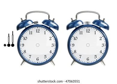 Set of alarm clock
