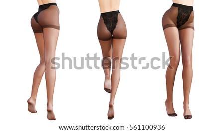 Black women sexy legs