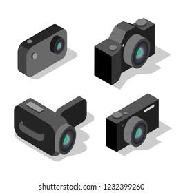 set of cameras