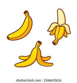Banana Logo3 SVG Vector, Banana Logo3 Clip art - SVG Clipart