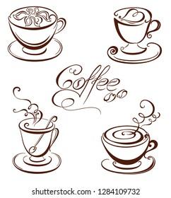 Set coffee cups.
