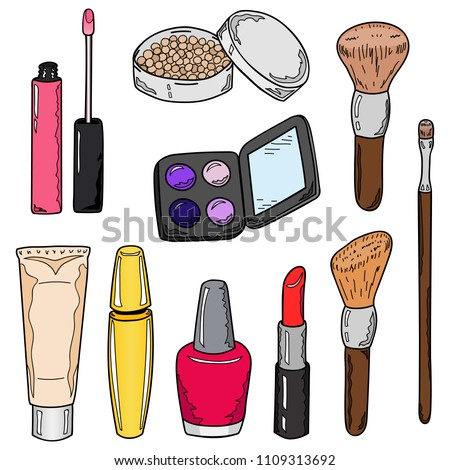 Cartoon Makeup Items