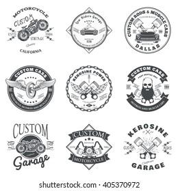 Custom Garage Logo Images Stock Photos Vectors Shutterstock
