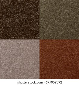 A set of four glitter background textures.