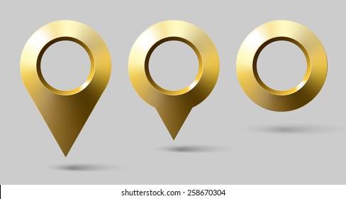 set golden marker location