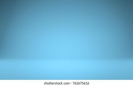 Set light photography studio blue