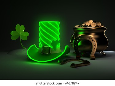 Set for the St. Patrick's Day.