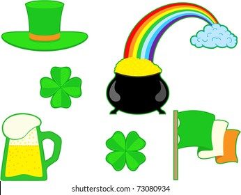 st patrick day clipart stock vector royalty free 25353616
