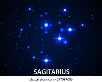 Set of Symbol Zodiac Sagitarius
