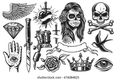 Royalty Free Tattoo Flash Stock Images Photos Vectors Shutterstock