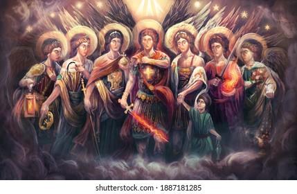 the seven Archangels of God