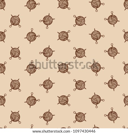 Sewing Beige Color Pattern Tangle Spokes Stock Illustration ...