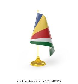 Seychelles Flag Detail Render
