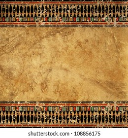 Shabby texture Egyptian style for scrapbooking or other projects