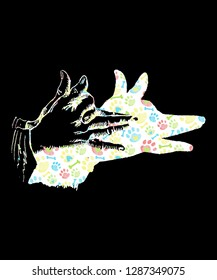 Shadow Hand Puppet Design
