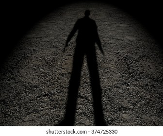 Man Shadow Images Stock Photos Amp Vectors Shutterstock