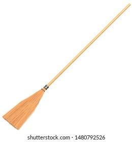 Shaker broom 3D rendering illustration